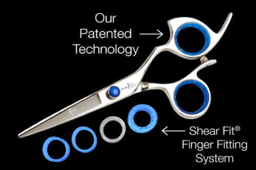 Shark Fin Shears - Our Patented Technology